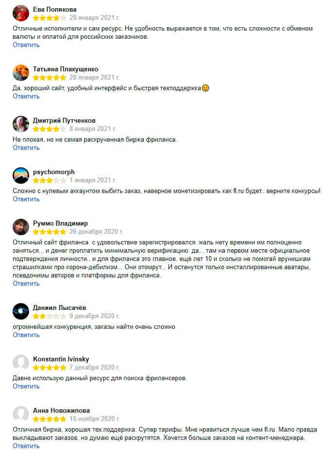 weblancer отзывы
